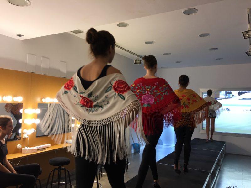 La moda flamenca se sube a la pasarela de nuestra escuela